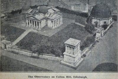 The Observatory on Calton Hill, Edinburgh.