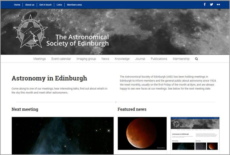 New ASE website