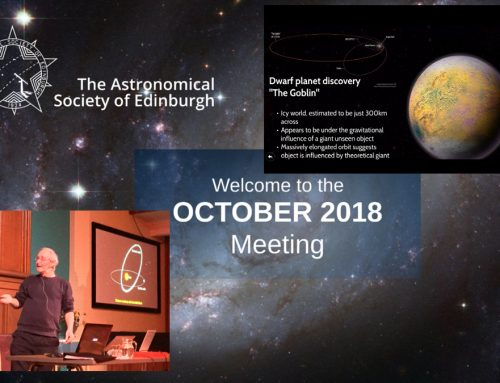 October 2018 meeting report