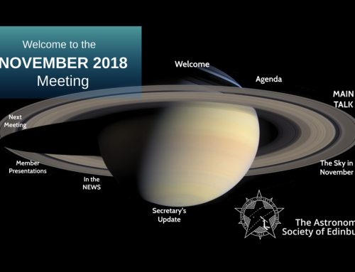November 2018 meeting report