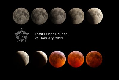 Lunar eclipse 21 Jan 2019