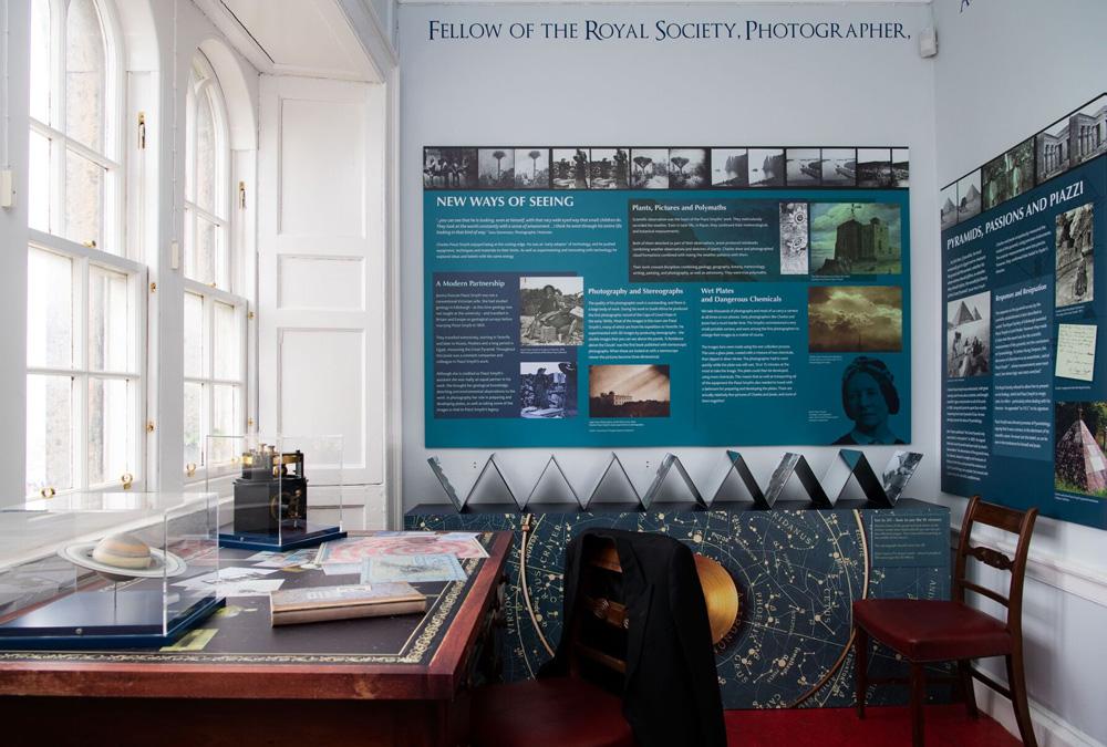 Charles Piazzi Smyth exhibition, Nelson Monument, Calton Hill, Edinburgh