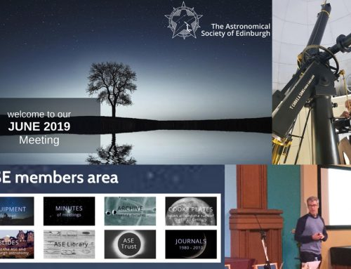June 2019 meeting report and information