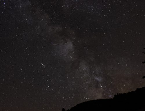 Unfavourable Perseid meteor shower August 2019