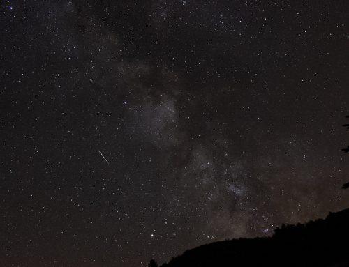 Unfavourable Perseid meteor shower August 2019