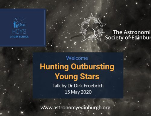 Hunting Outbursting Young Stars talk 15 May 2020