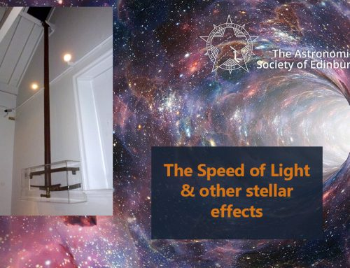 Report and video from Speed of Light and other Stellar Effects talk