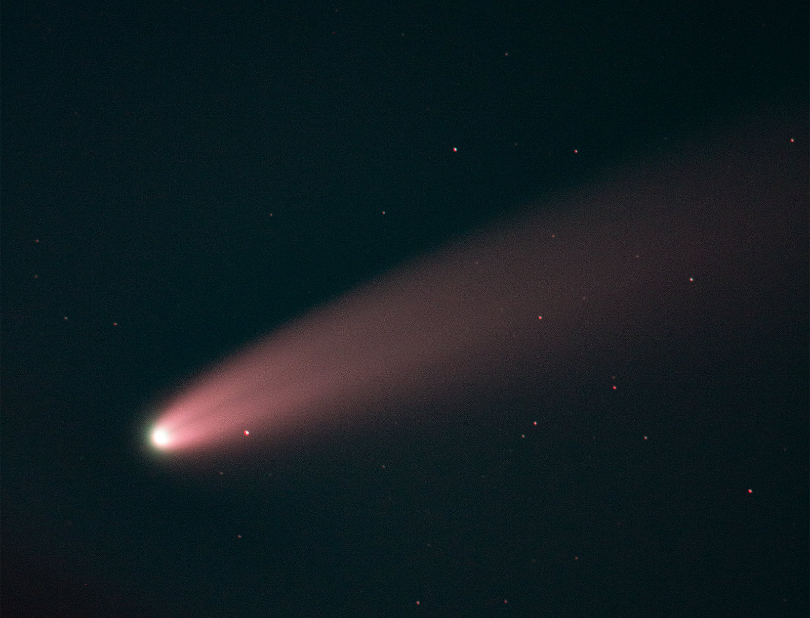Comet NEOWISE by Ian Smith