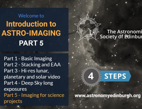 Intro to Astro-imaging Part 5 online