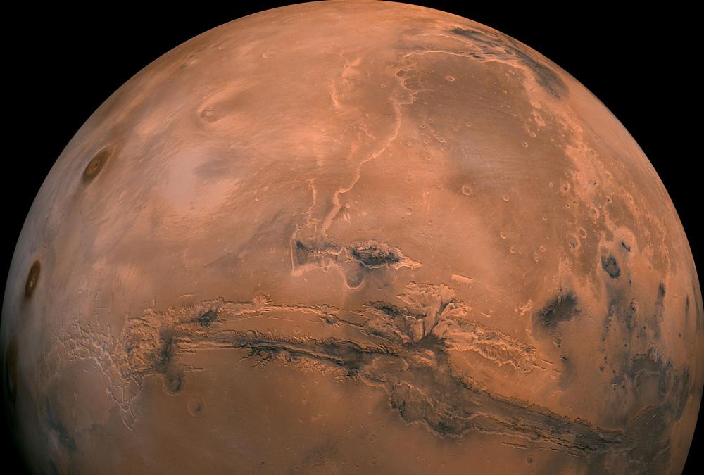 Mars NASA JPL-Caltech