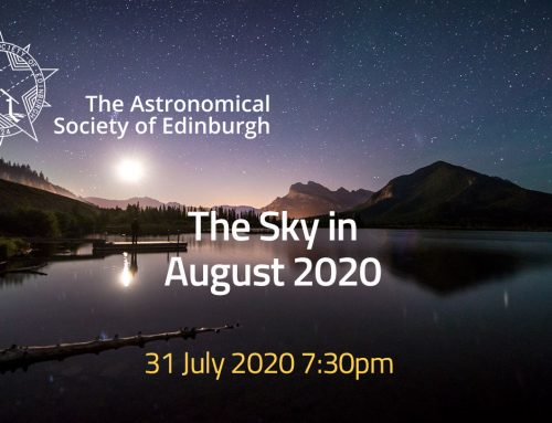 The Sky in August 2020 presentation