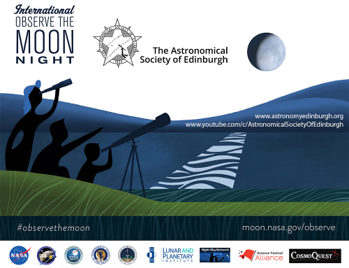 International Observe the Moon Night 2020 live stream