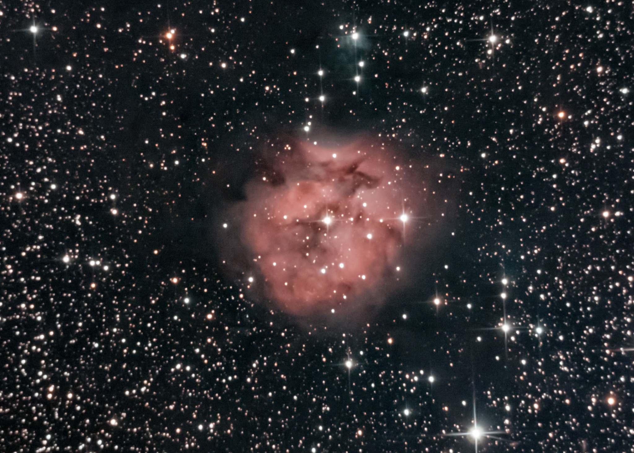 Cocoon Nebula by Ian Smith