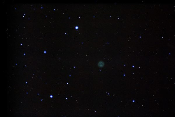"""M97 Jonathan Anderson 4"""" f10 achro on HEQ5pro Canon 700d (unmod) @ ISO800"""