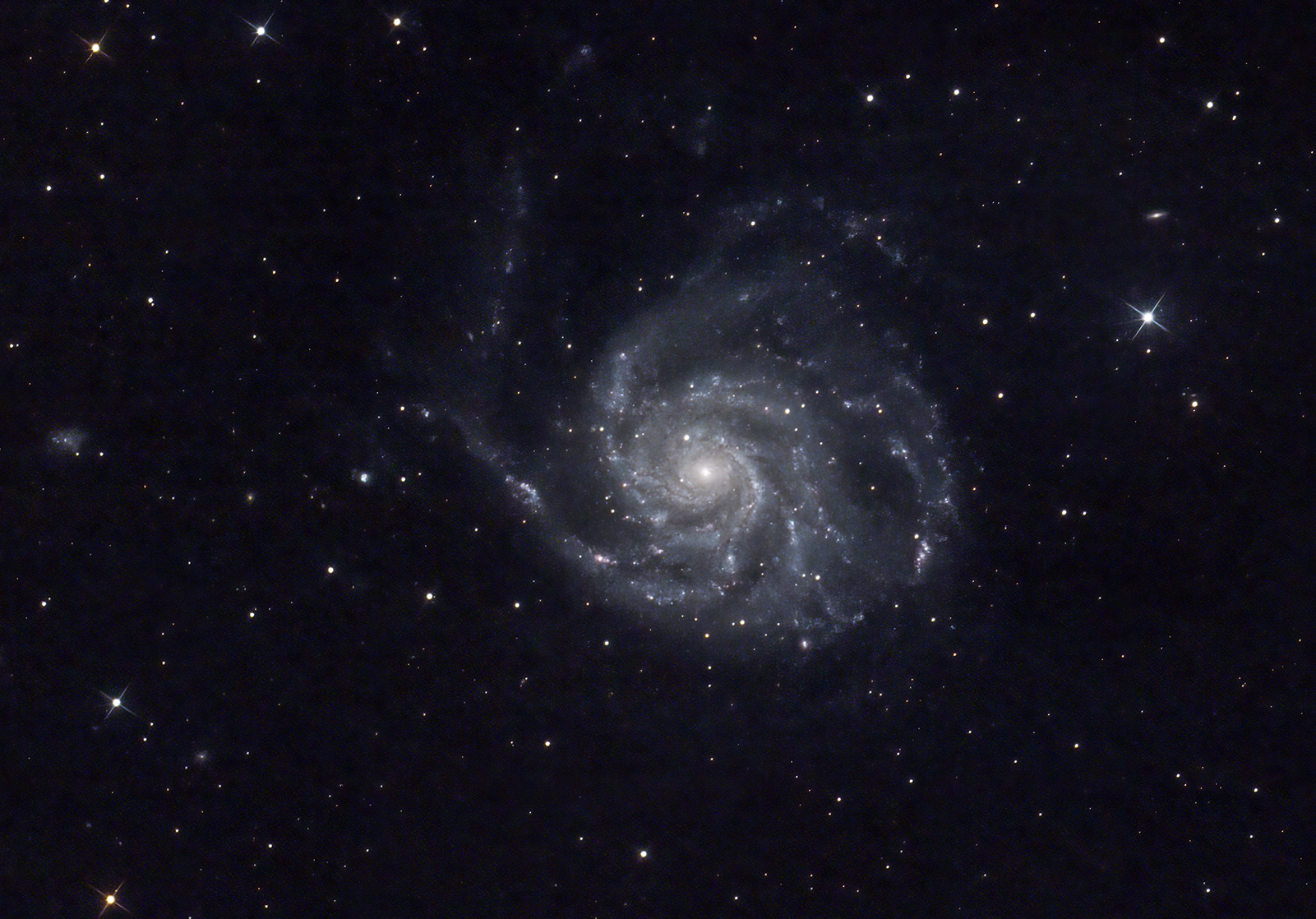 M101 Mark Phillips 250mm f4.8 Newtonian QHY168C