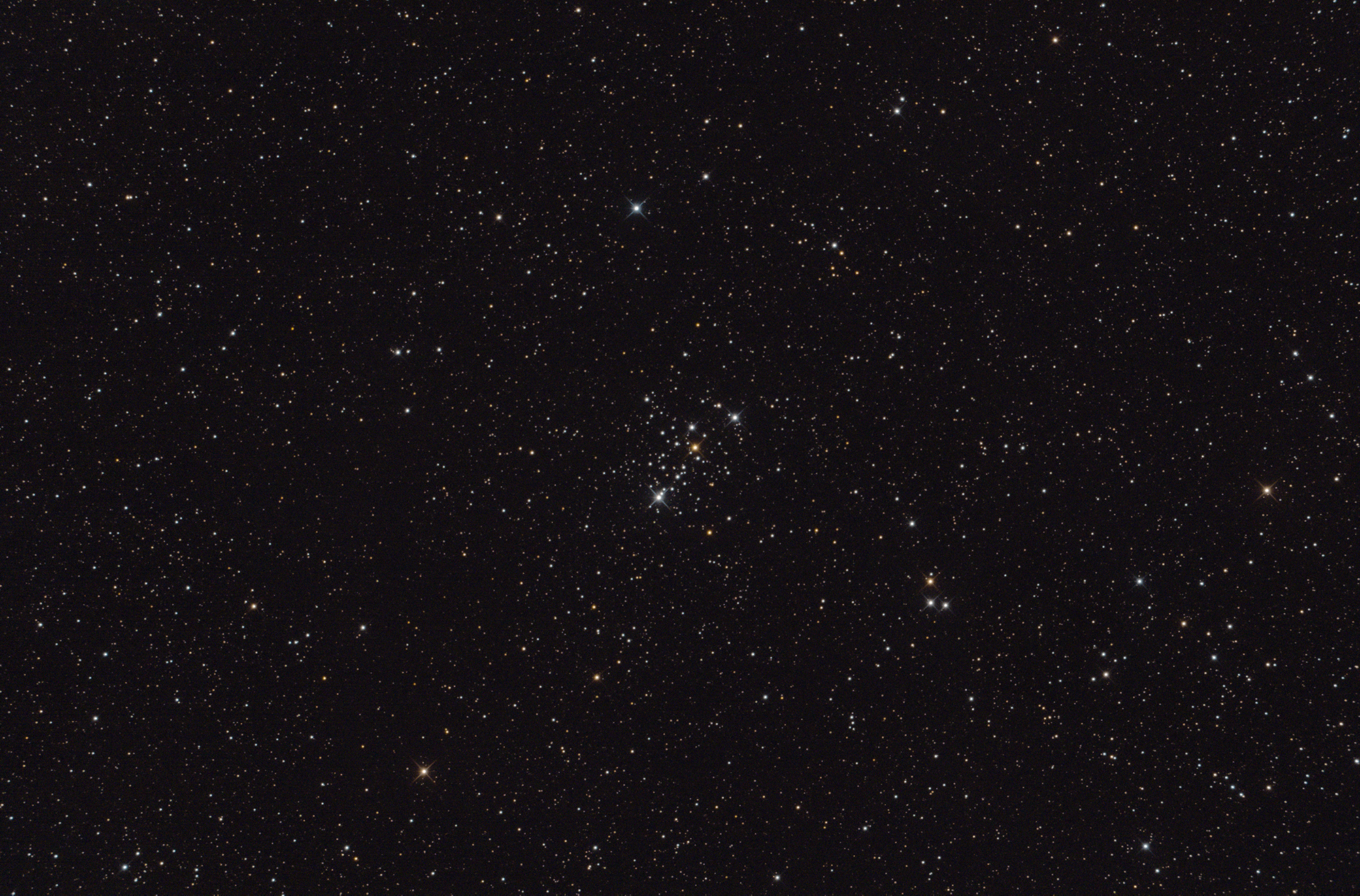 M103 Mark Phillips 250mm f4.8 Newtonian, QHY168C, tri-band filter