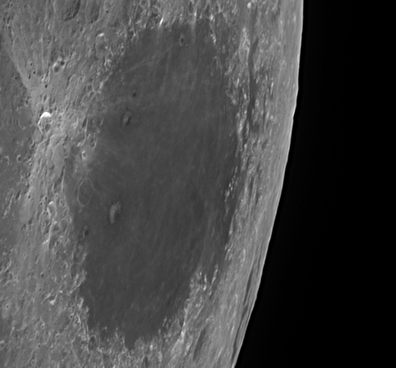 L10 Mare Crisium - Mare contained in large circular basin (Mike McGovern)