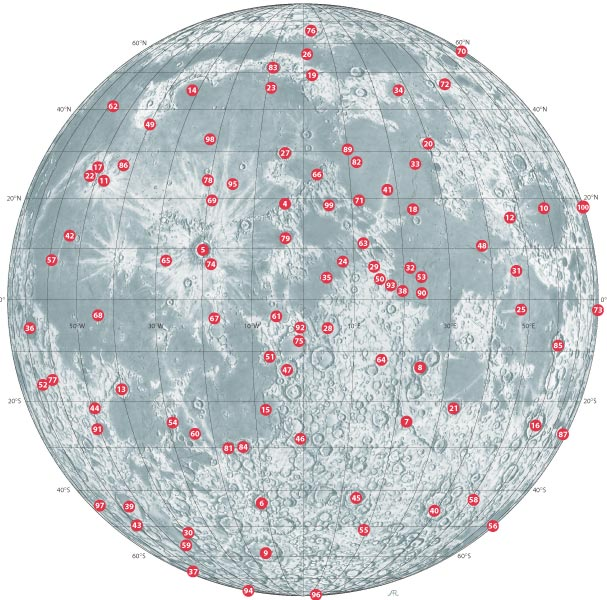 Lunar100Map Sky & Telescope