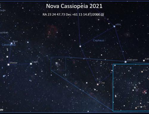 Nova in Cassiopeia