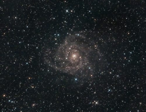 C5 IC 342 Hidden Galaxy