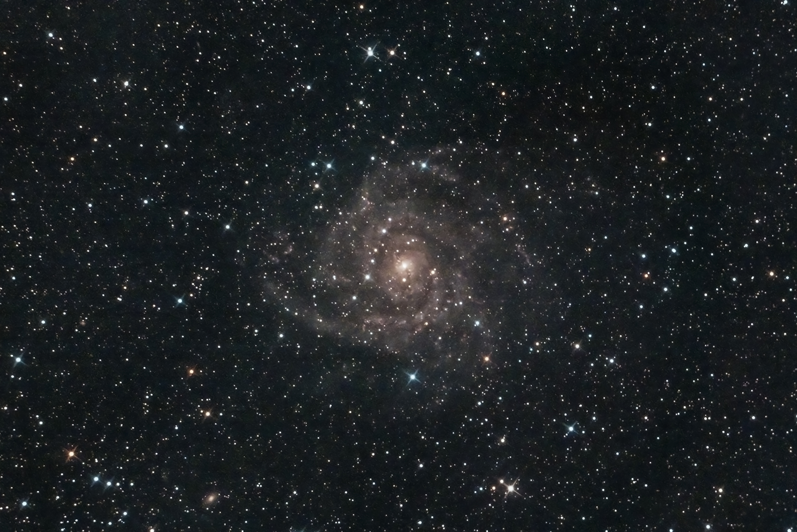 C5 IC 342 Mark Phillips 250mm f4.8 Newtonian QHY168C