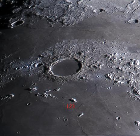 L23 Pico Isolated Imbrium basin-ring fragment (Mark Phillips)