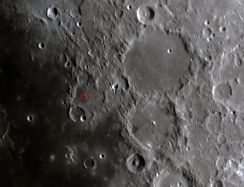 L51 Davy crater chain