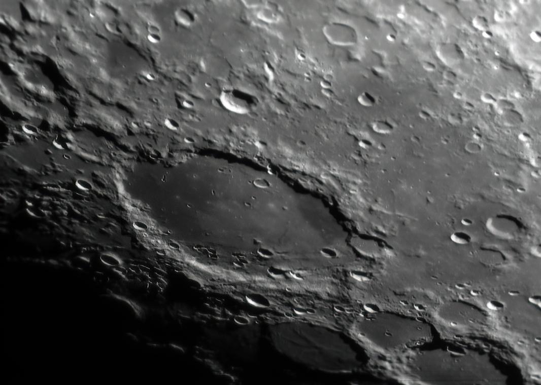 L39 Schickard Crater floor with Orientale basin ejecta stripe (Mark Phillips)