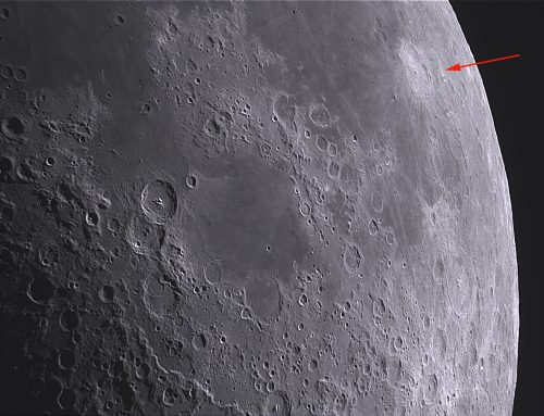 L85 – Langrenus with rays