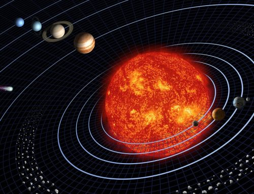 New interactive solar system map