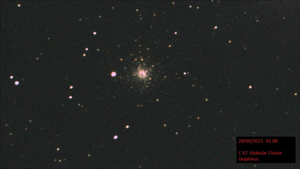 C47 NGC 6934 Globular Cluster Delphinus mag. 8.9 (Hugh Somerville)